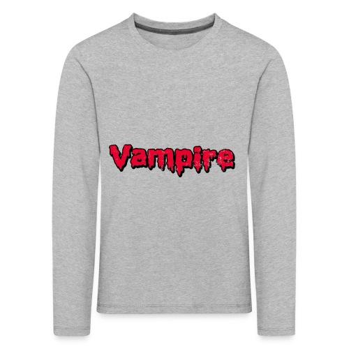 VAMPIRE Design - Kids' Premium Longsleeve Shirt