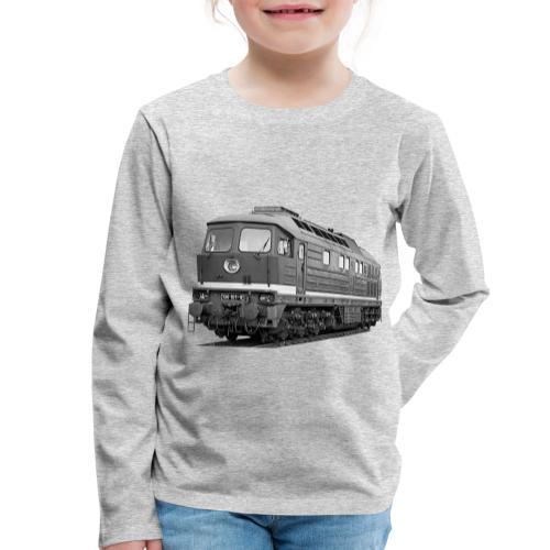 Lokomotive Baureihe 130 Reichsbahn Taigatrommel - Kinder Premium Langarmshirt