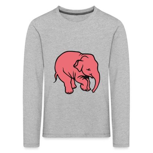 DT olifant - Kinderen Premium shirt met lange mouwen