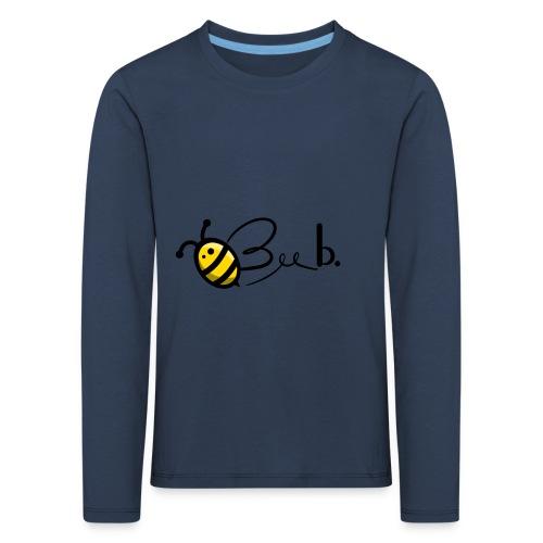 Bee b. Logo - Kids' Premium Longsleeve Shirt