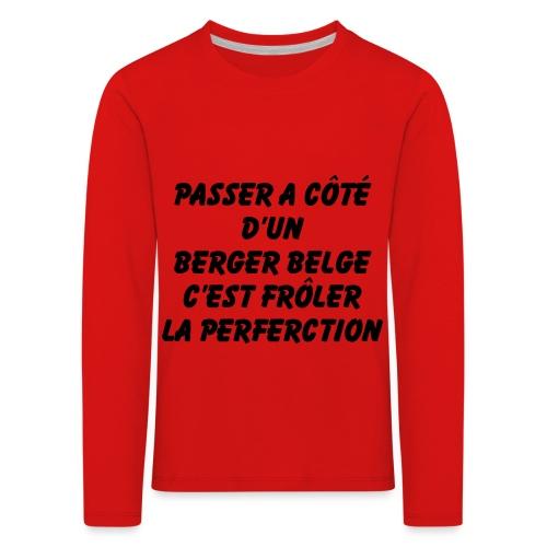 Frôler la perfection - T-shirt manches longues Premium Enfant