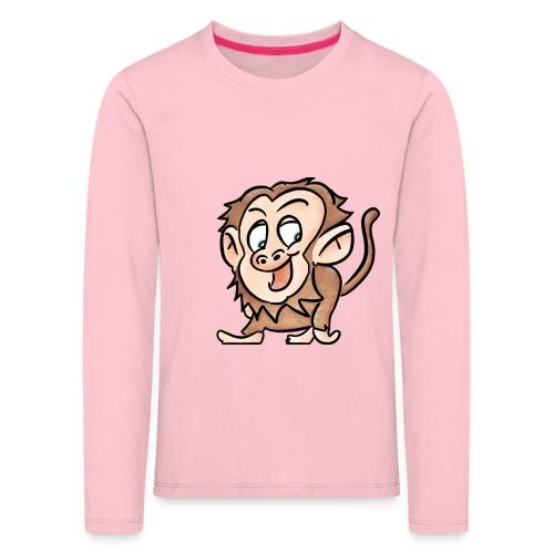 Aap - Kinderen Premium shirt met lange mouwen