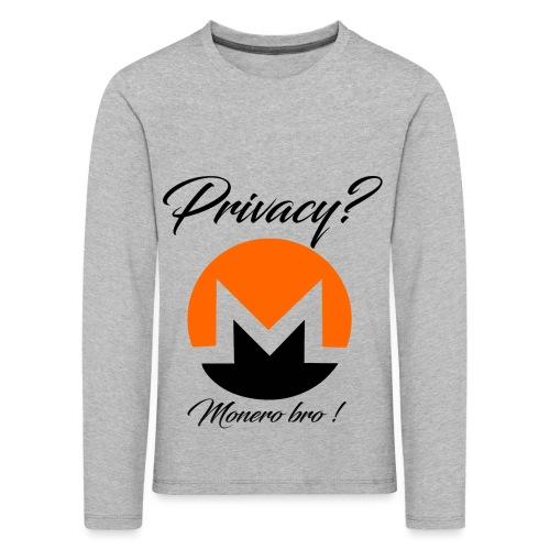 Moneroooo - T-shirt manches longues Premium Enfant