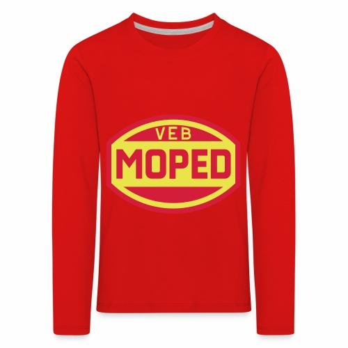 Moped VEB Logo (2c) - Kids' Premium Longsleeve Shirt