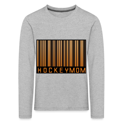 Hockey Mom Mamma Äiti Mother - Långärmad premium-T-shirt barn