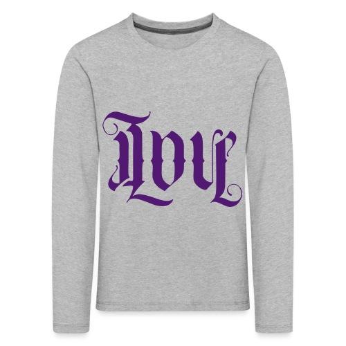 Love and hate - Kids' Premium Longsleeve Shirt