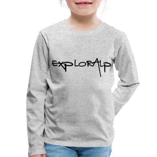 exploralp test oriz - Kids' Premium Longsleeve Shirt