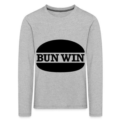 bunwinblack - Kids' Premium Longsleeve Shirt