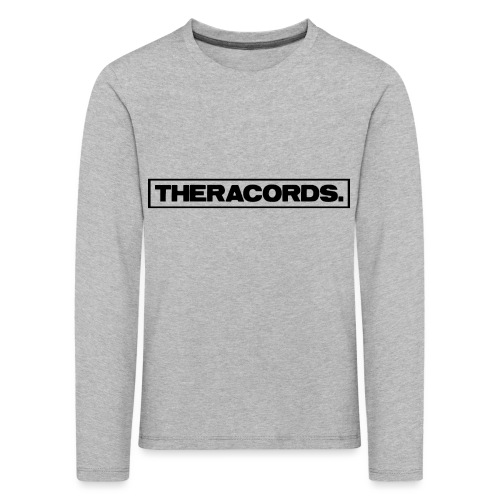 Theracords_logo_black_TP - Kinderen Premium shirt met lange mouwen