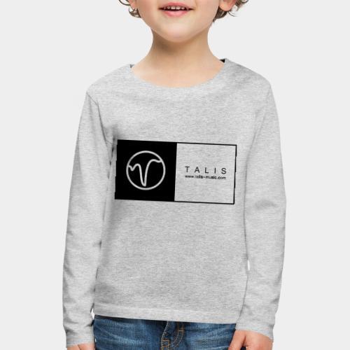 TALIS (2Quadrate) - Kinder Premium Langarmshirt