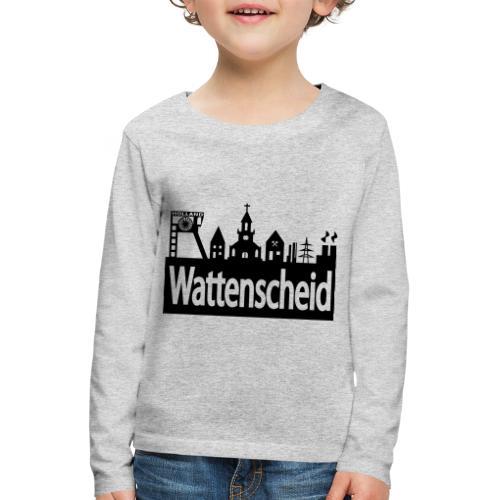 Skyline Wattenscheid - Kinder Premium Langarmshirt