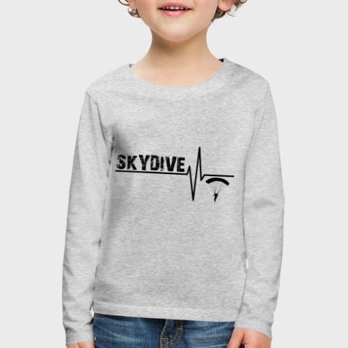 Skydive Pulse - Kinder Premium Langarmshirt