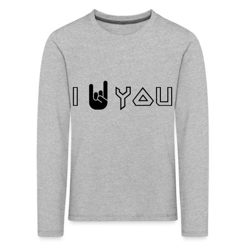 i rock vous - T-shirt manches longues Premium Enfant
