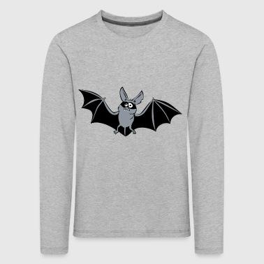 Fledermaus - cooler Superheld Vampir Style - Kinder Premium Langarmshirt