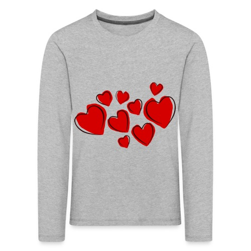 hearts herzen - Kinder Premium Langarmshirt