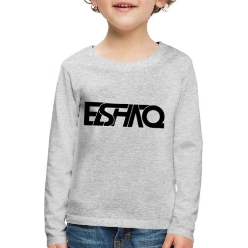 elshaq black - Kids' Premium Longsleeve Shirt
