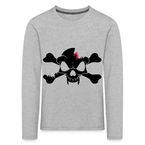 SKULL N CROSS BONES.svg - Kids' Premium Longsleeve Shirt