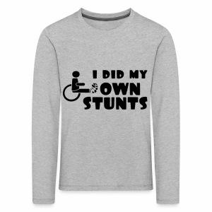 Ownstunts - Kinderen Premium shirt met lange mouwen