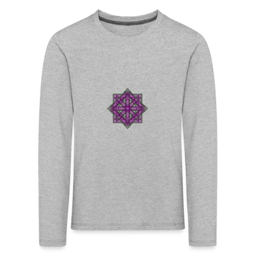 geometronology - Kids' Premium Longsleeve Shirt