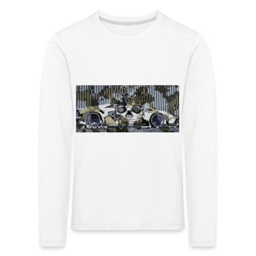 calavera style - Kids' Premium Longsleeve Shirt