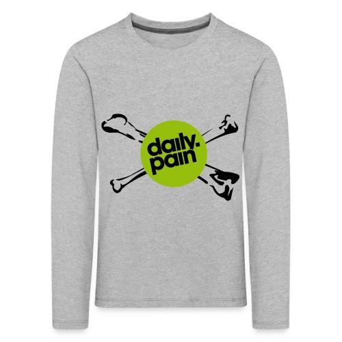 daily pain cho kark - Koszulka dziecięca Premium z długim rękawem