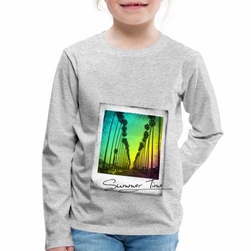 Summer Time - Kids' Premium Longsleeve Shirt
