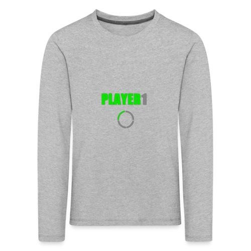 PLAYER 1 VideoJuegos - Camiseta de manga larga premium niño