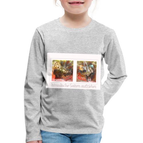 Design Himmlische Saiten aufziehen - Geige spielen - Kinder Premium Langarmshirt