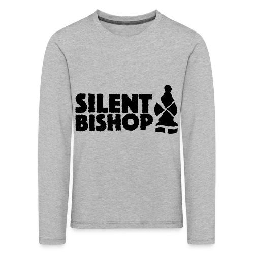 Silent Bishop Logo Groot - Kinderen Premium shirt met lange mouwen