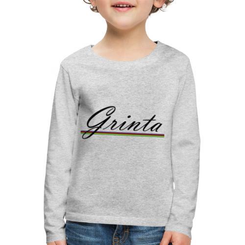 grinta - T-shirt manches longues Premium Enfant