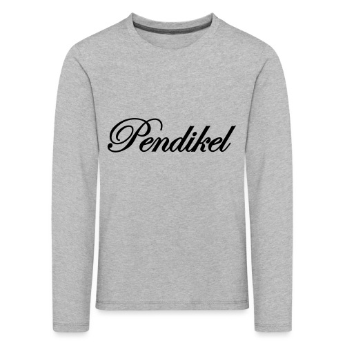 Pendikel Schriftzug (offiziell) Buttons & - Kinder Premium Langarmshirt