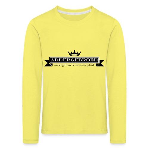 Addergebroed - Kinderen Premium shirt met lange mouwen