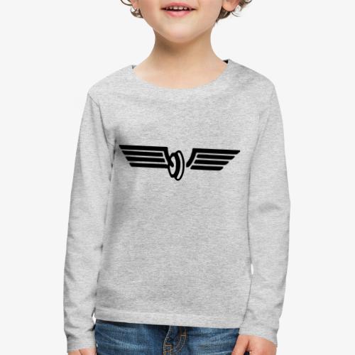 Flügelrad Wintermütze - Kinder Premium Langarmshirt