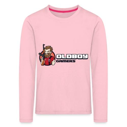 Oldboy Gamers Fanshirt - Premium langermet T-skjorte for barn