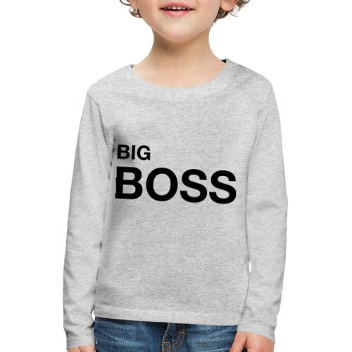 big boss 01 - Kinder Premium Langarmshirt