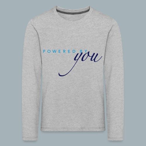 Powered By You Basketbal Shirt - Kinderen Premium shirt met lange mouwen