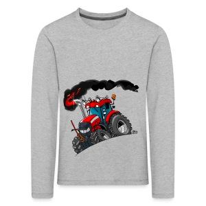 RED TRACTOR - Kinderen Premium shirt met lange mouwen