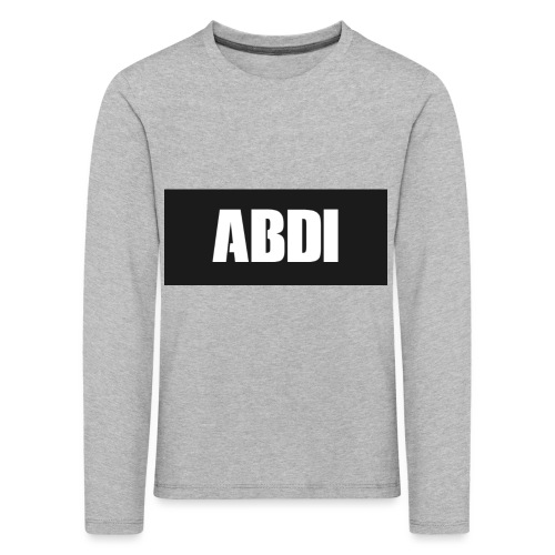 Abdi - Kids' Premium Longsleeve Shirt