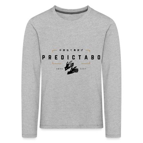 Predictabo - T-shirt manches longues Premium Enfant