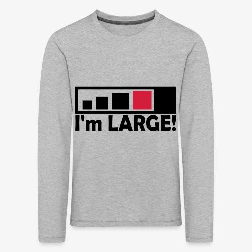 large_geocacher - Kinder Premium Langarmshirt