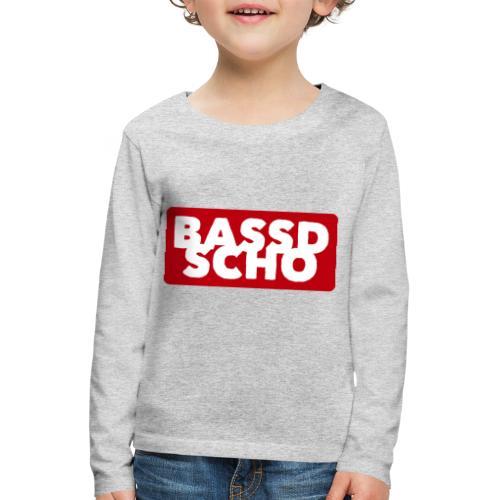 BASSD SCHO - Kinder Premium Langarmshirt