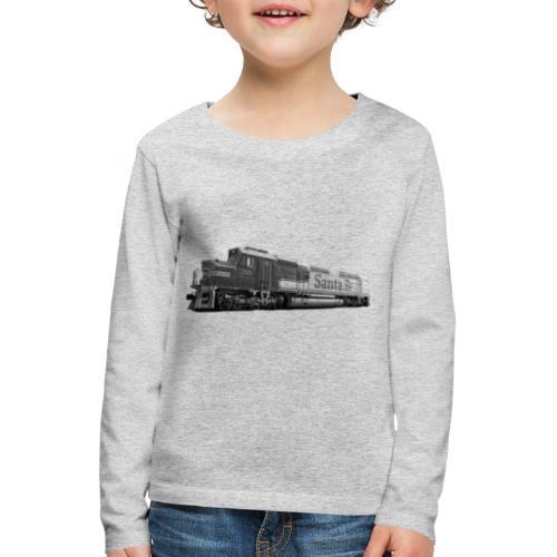 Lokomotive Santa Fe EMD F7 USA - Kinder Premium Langarmshirt