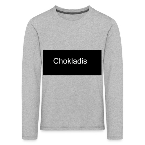 Chokladis Logo - Långärmad premium-T-shirt barn