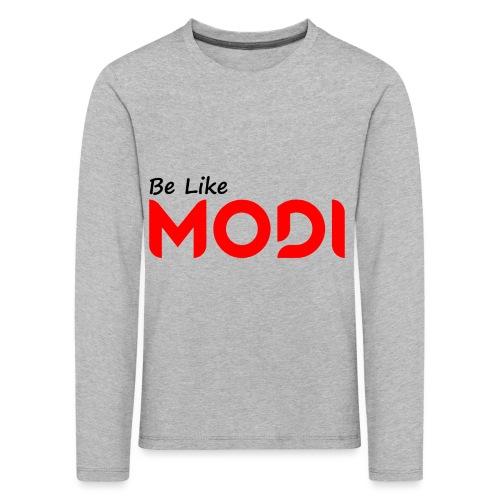 Be Like MoDi - Koszulka dziecięca Premium z długim rękawem