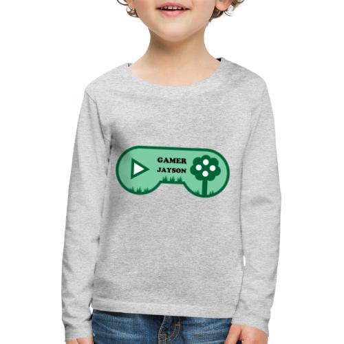 Joueur Jayson - T-shirt manches longues Premium Enfant