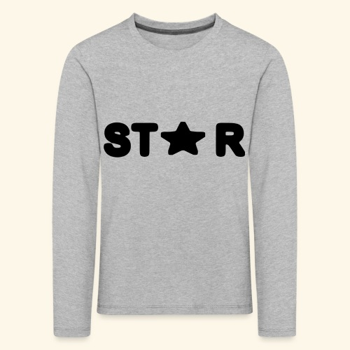 Star of Stars - Kids' Premium Longsleeve Shirt