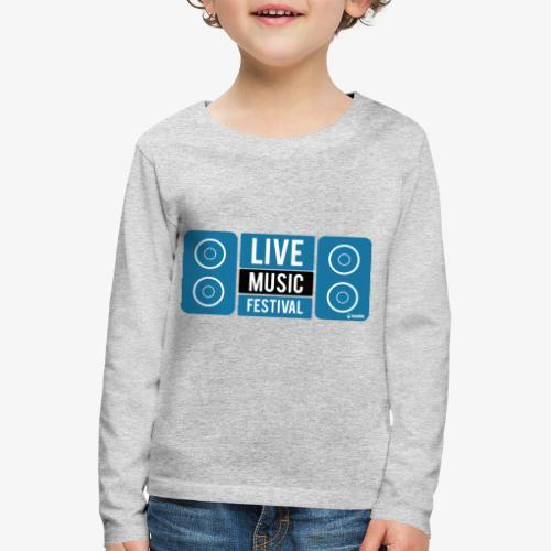 Sound 005 - Camiseta de manga larga premium niño