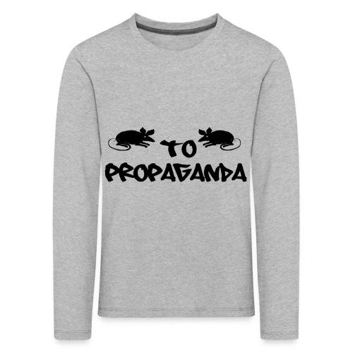 MausPropaganda (2) - Kinder Premium Langarmshirt