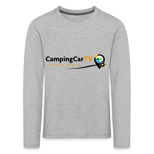 LOGO CCTV - T-shirt manches longues Premium Enfant