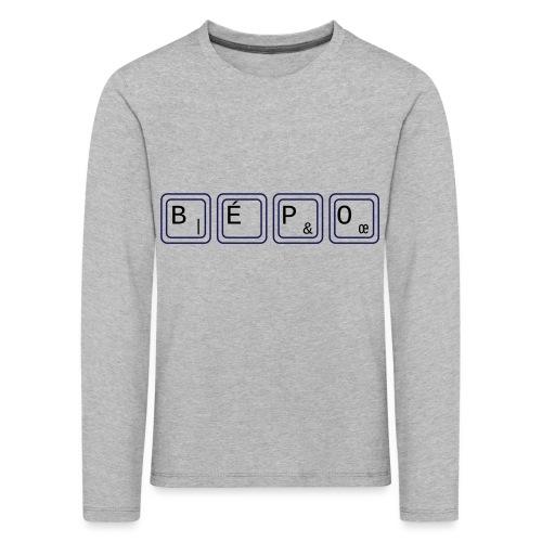 bépo - T-shirt manches longues Premium Enfant